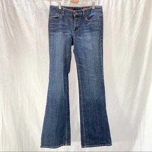 Express Mia bootleg (bootcut)  jeans. 8L